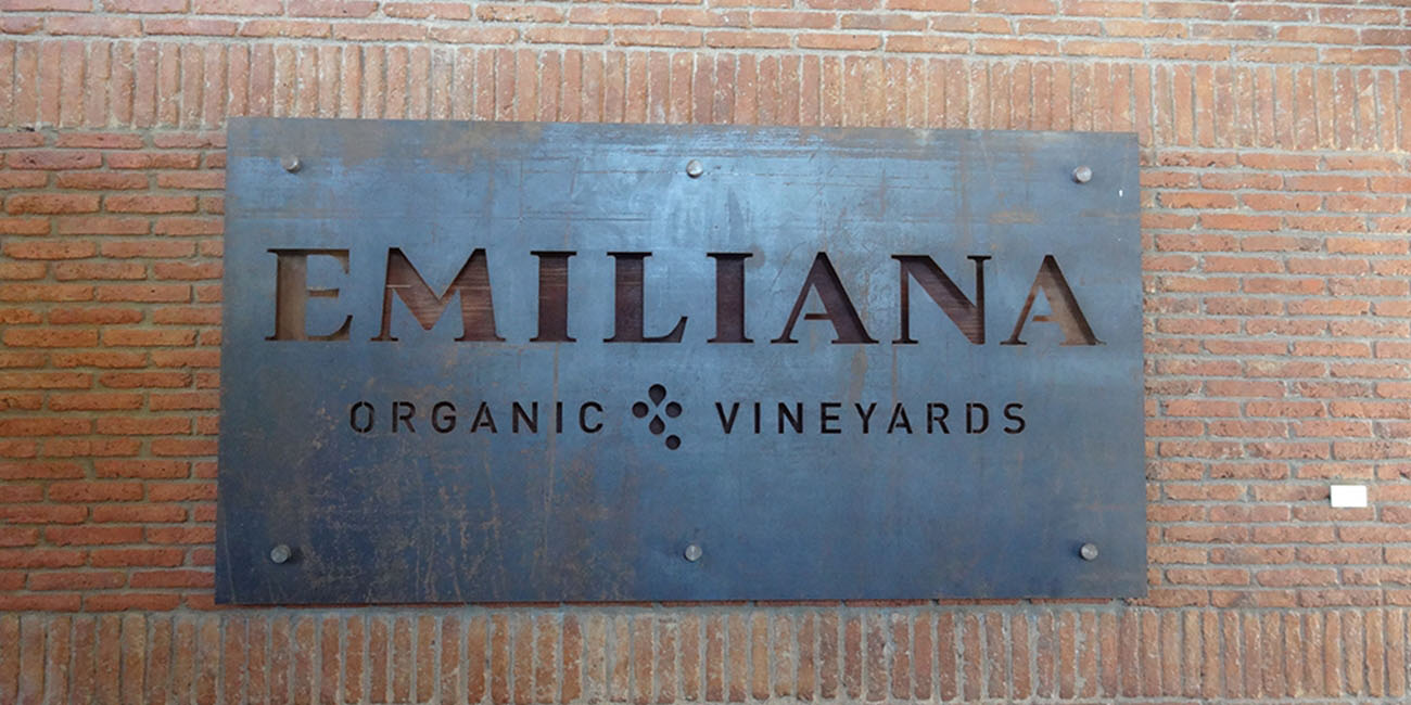 Emiliana Winery Sign Casablanca