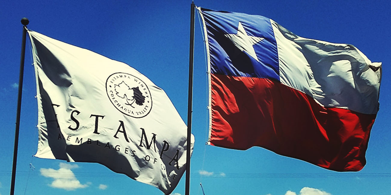 Estampa Winery Flags