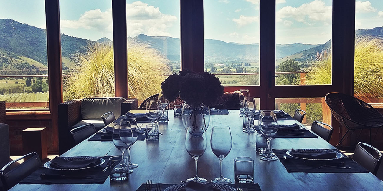 Francis Lurton Winery Dining Room
