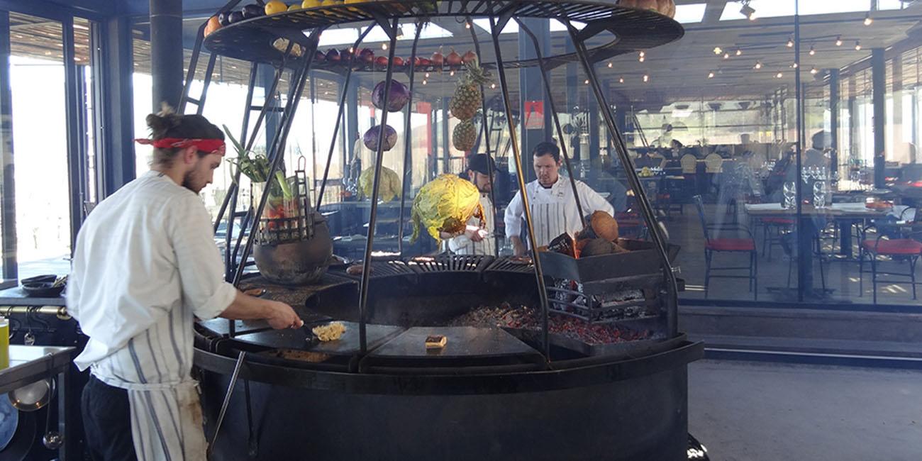 Fuegos de Apalta Outdoor Grill