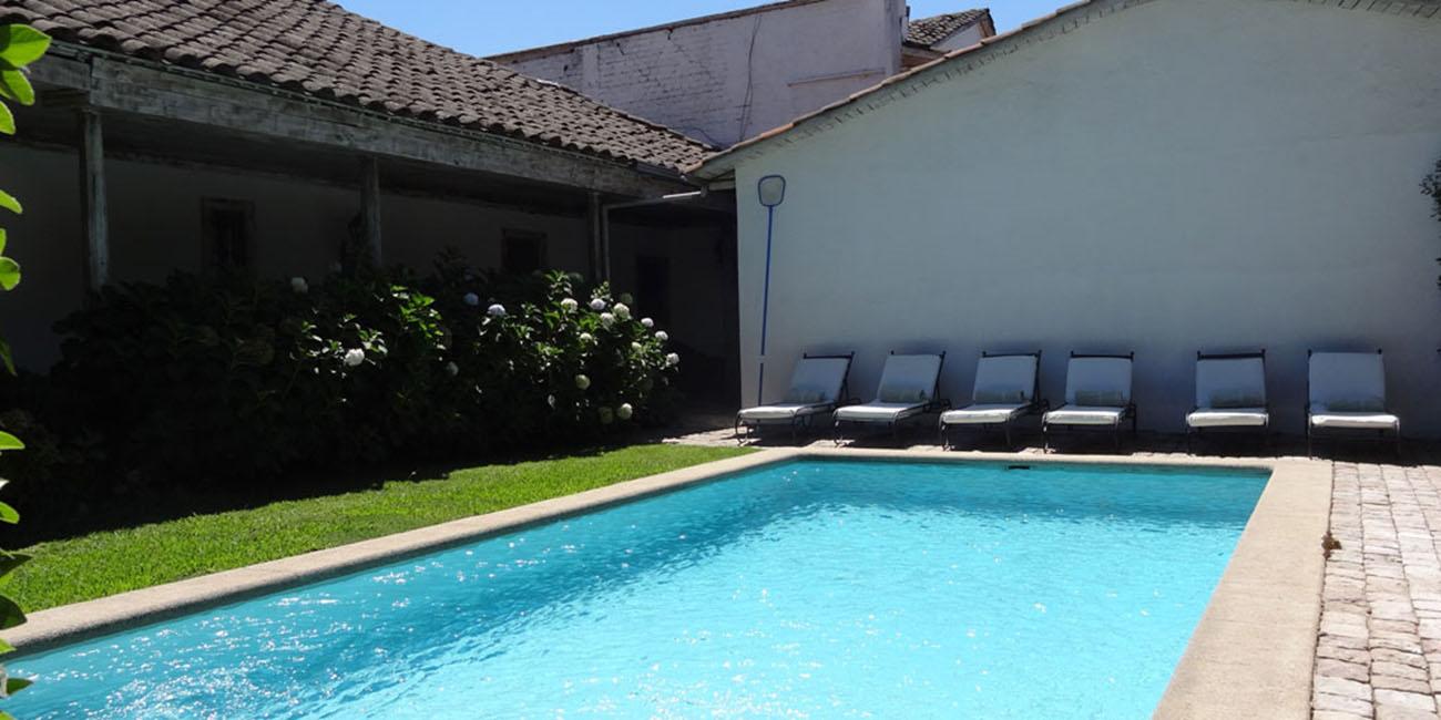 Hotel Casa Silva Pool Area