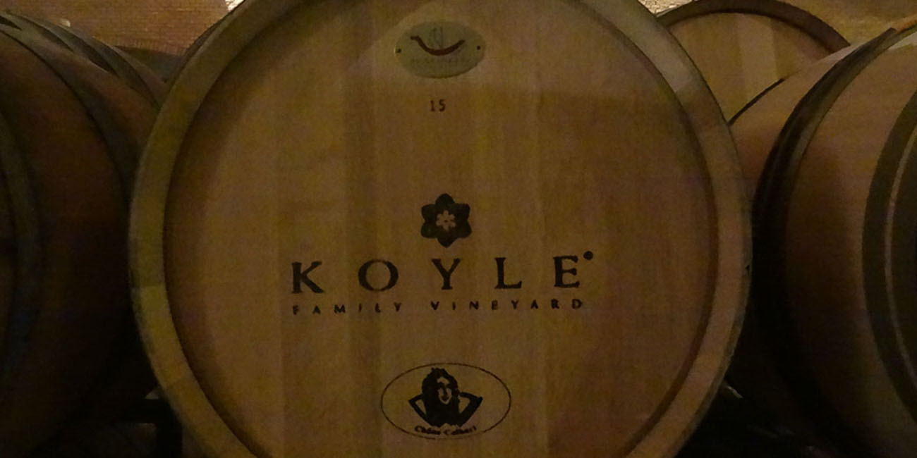 Koyle Winery Barrel