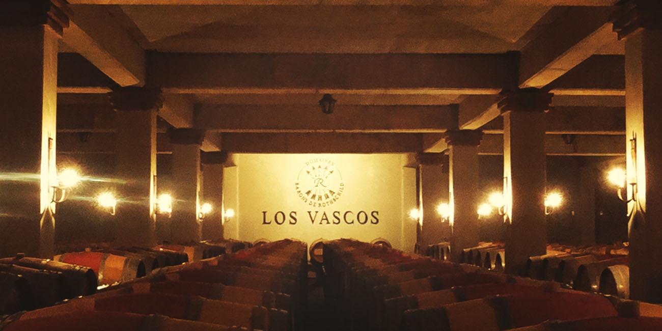 Los Vascos Barrel Room