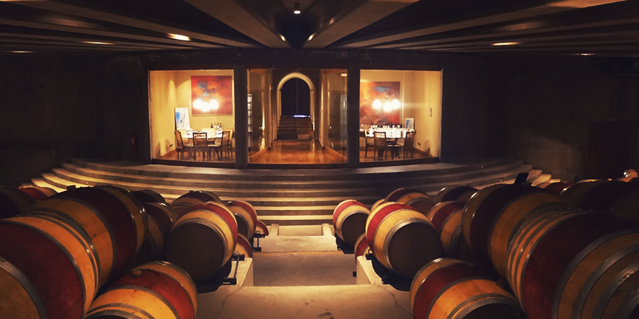 Montes Barrel Room