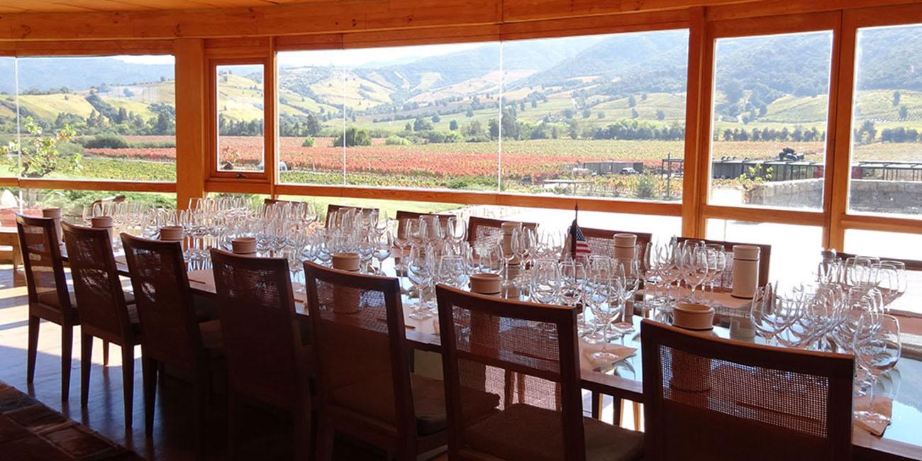 Montes Wine Tasting Room