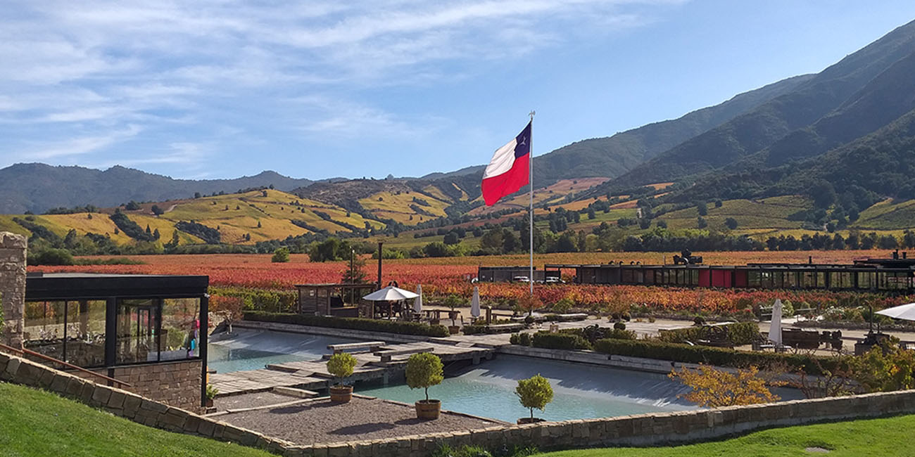 Montes Winery Outdoor View