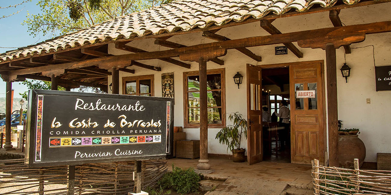 Casita Barreales Peruvian Restaurant Entrance