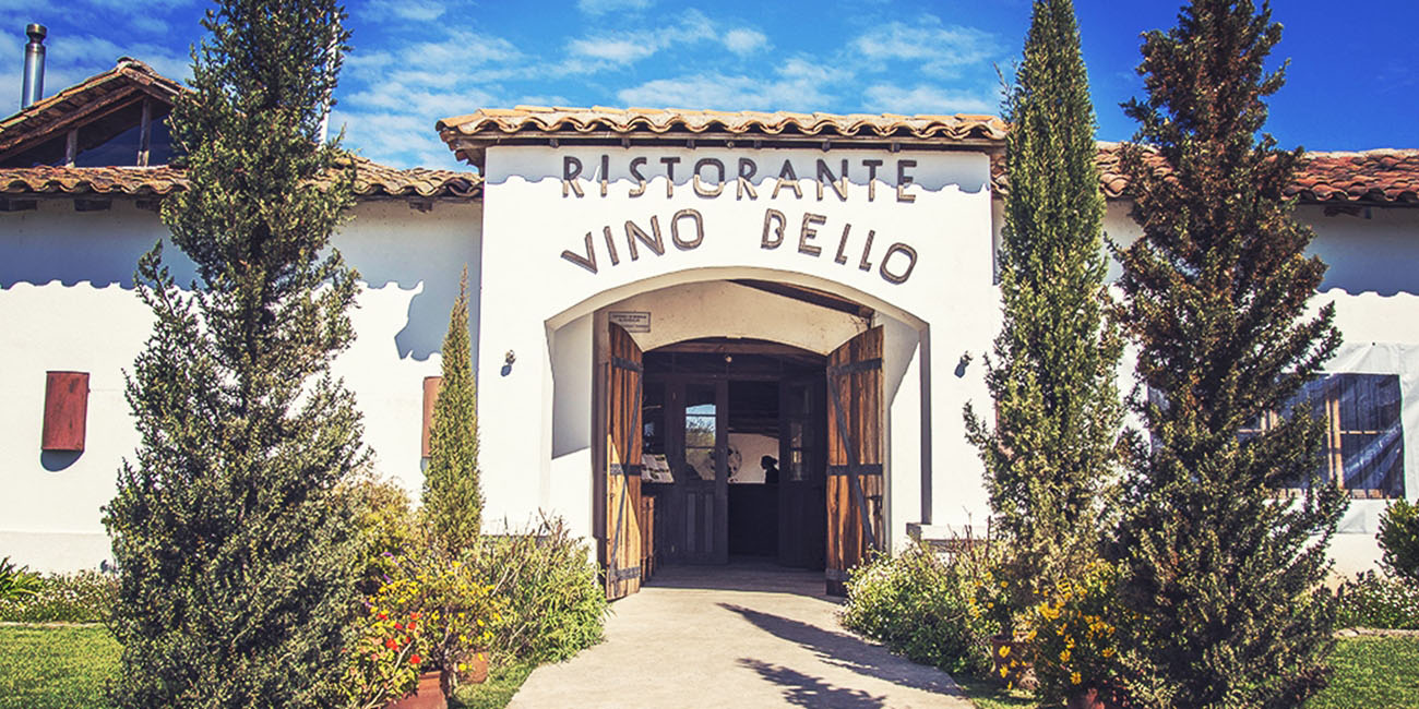 Vino Bello Italian Restaurant Front Entrance