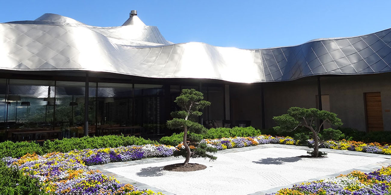 VIK Hotel Japanese Garden Courtyard