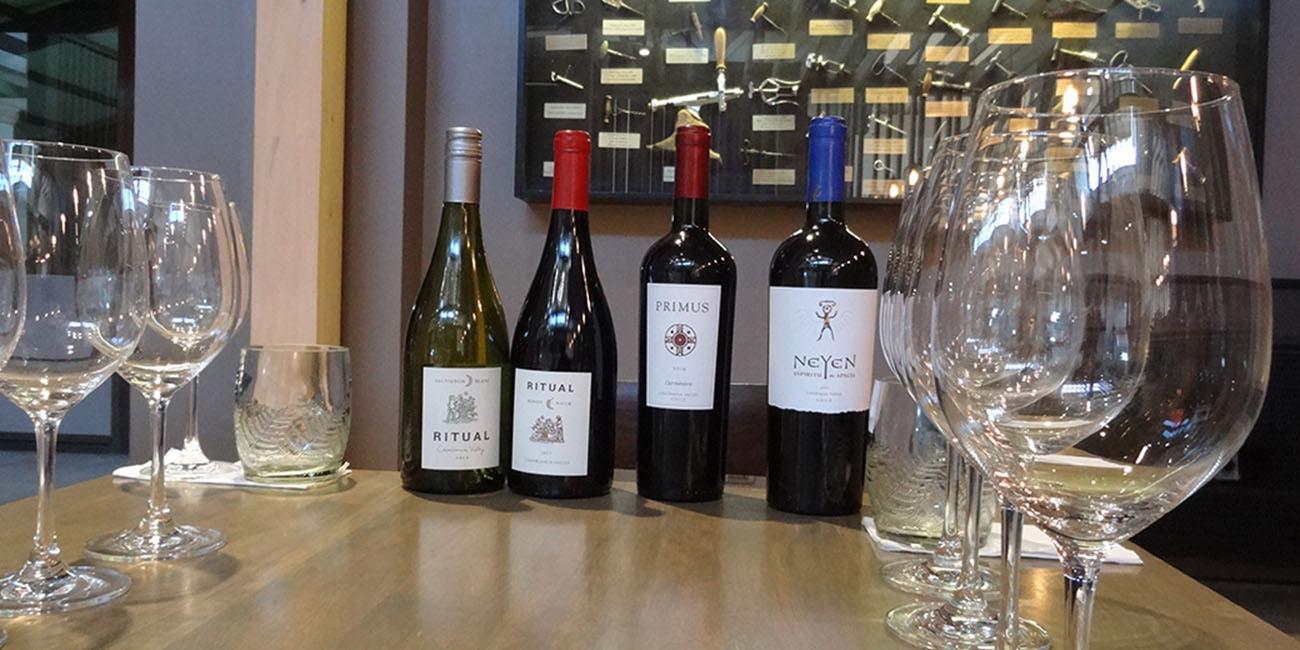 Veramonte Wine Tasting