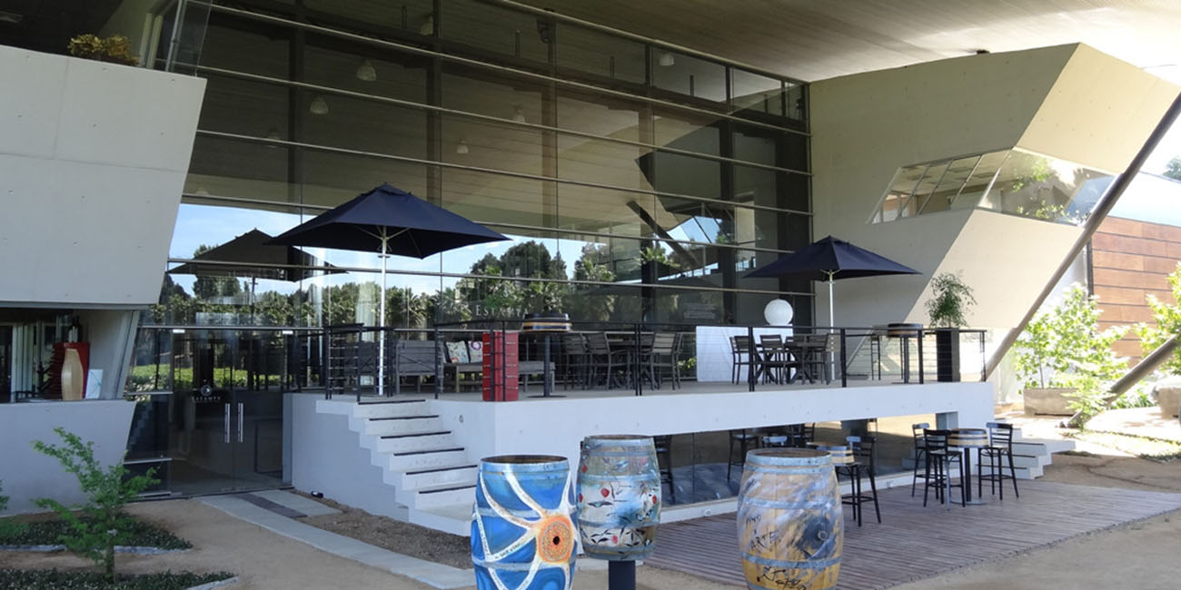 Estampa Winery Outdoor Seating