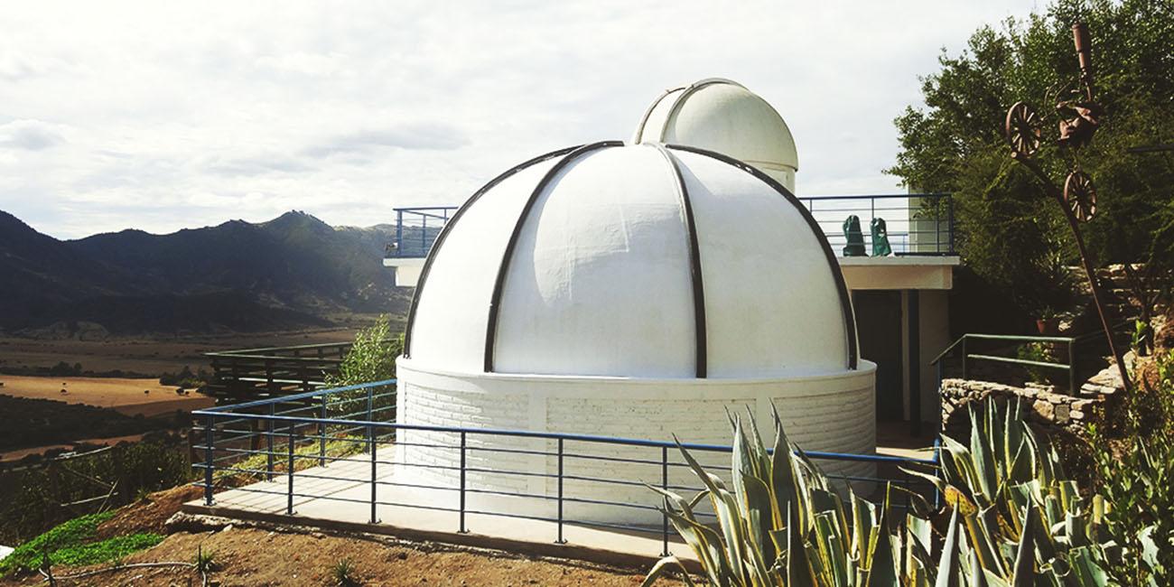 Santa Cruz Winery Telescope