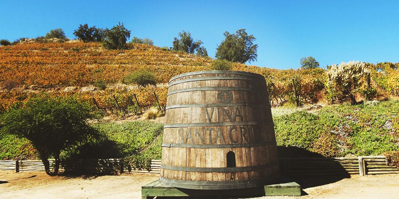 Santa Cruz Winery large barrel