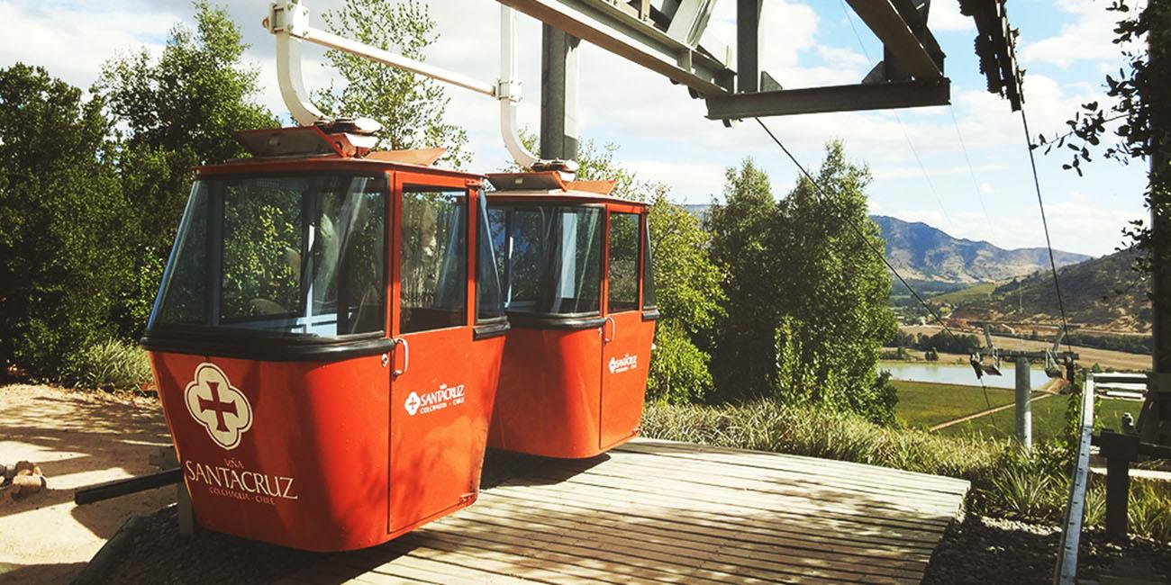 Santa Cruz Winery funicular ride