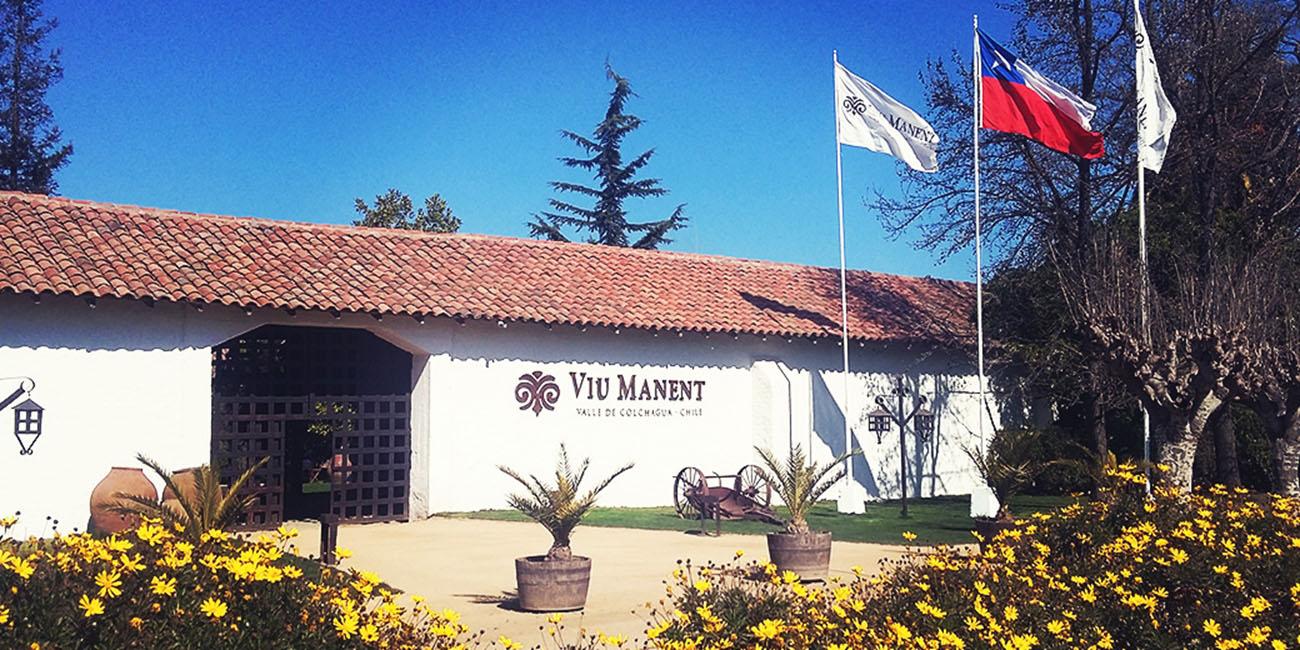 Viu Manent Winery Colchagua Chile