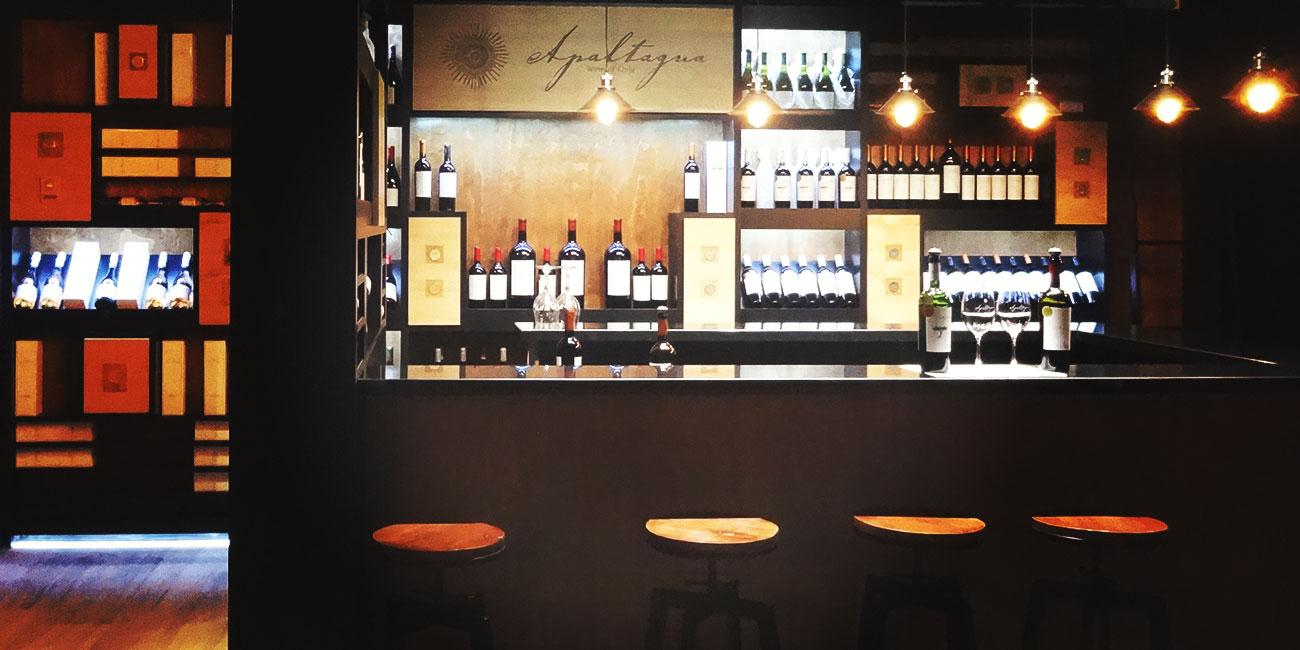 Apaltagua wine shop