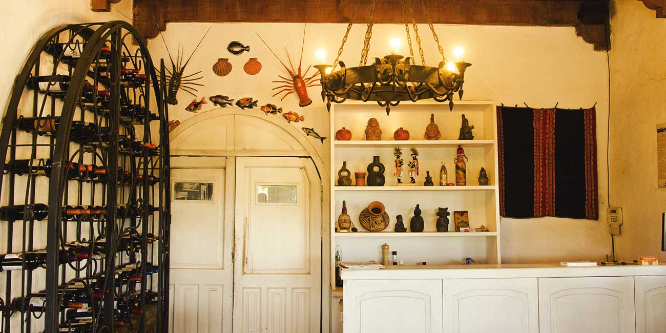 Casita Barreales Reception Area