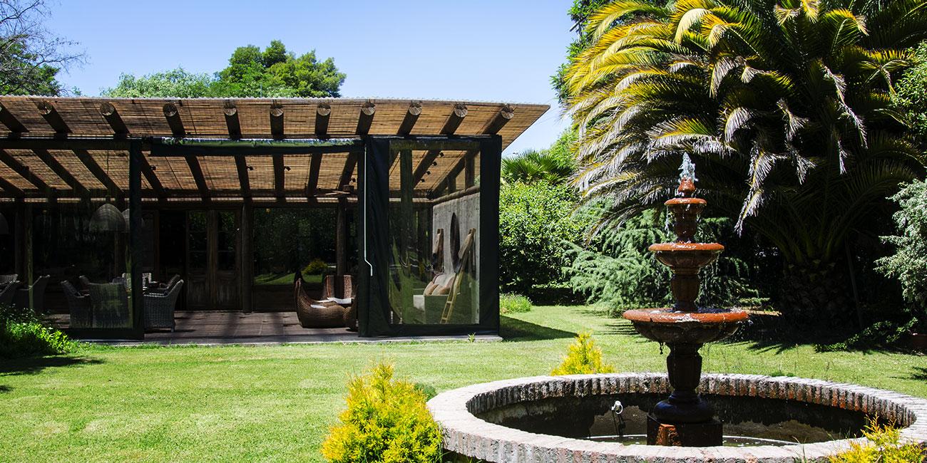 Hotel Casa de Campo outdoor fountain