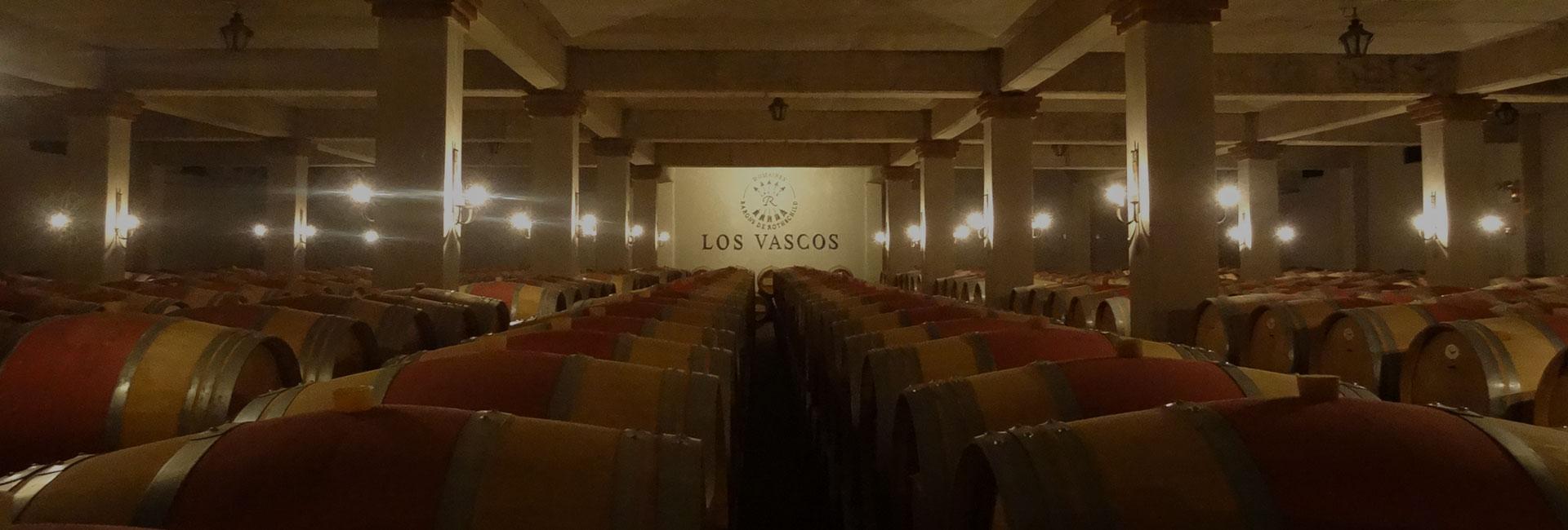 Los Vascos Header