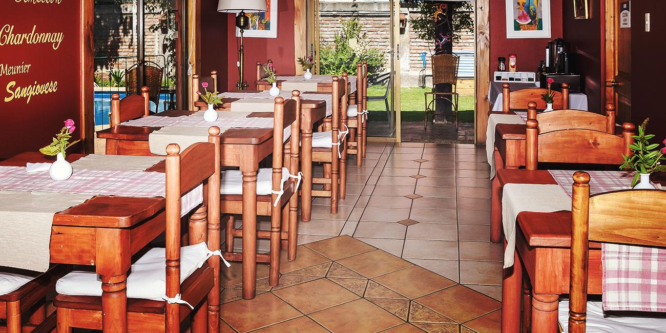Hostal Cepa Noble Breakfast Area