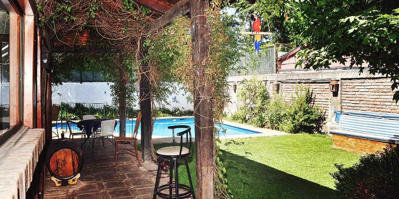 Hostal Cepa Noble Outdoor Area
